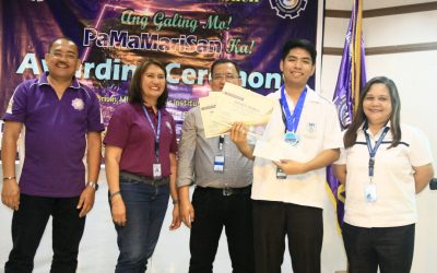 MFI Polytechnic Institute Team Wins at the 2019 TESDA PaMaMariSan District Skills Competition